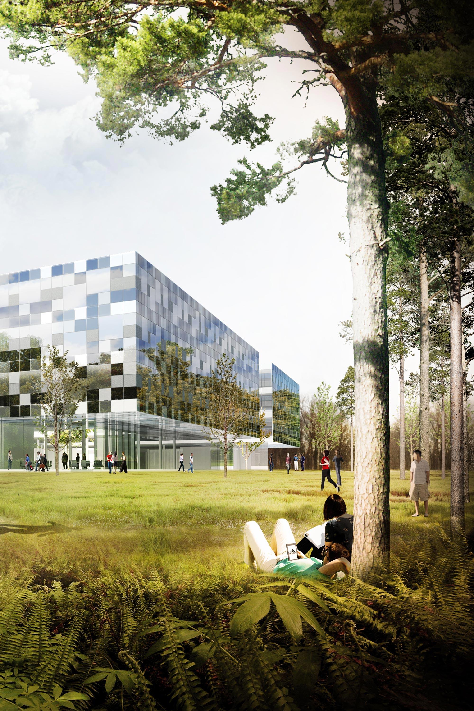 adidas World of Sports. Berger+Parkkinen Architekten
