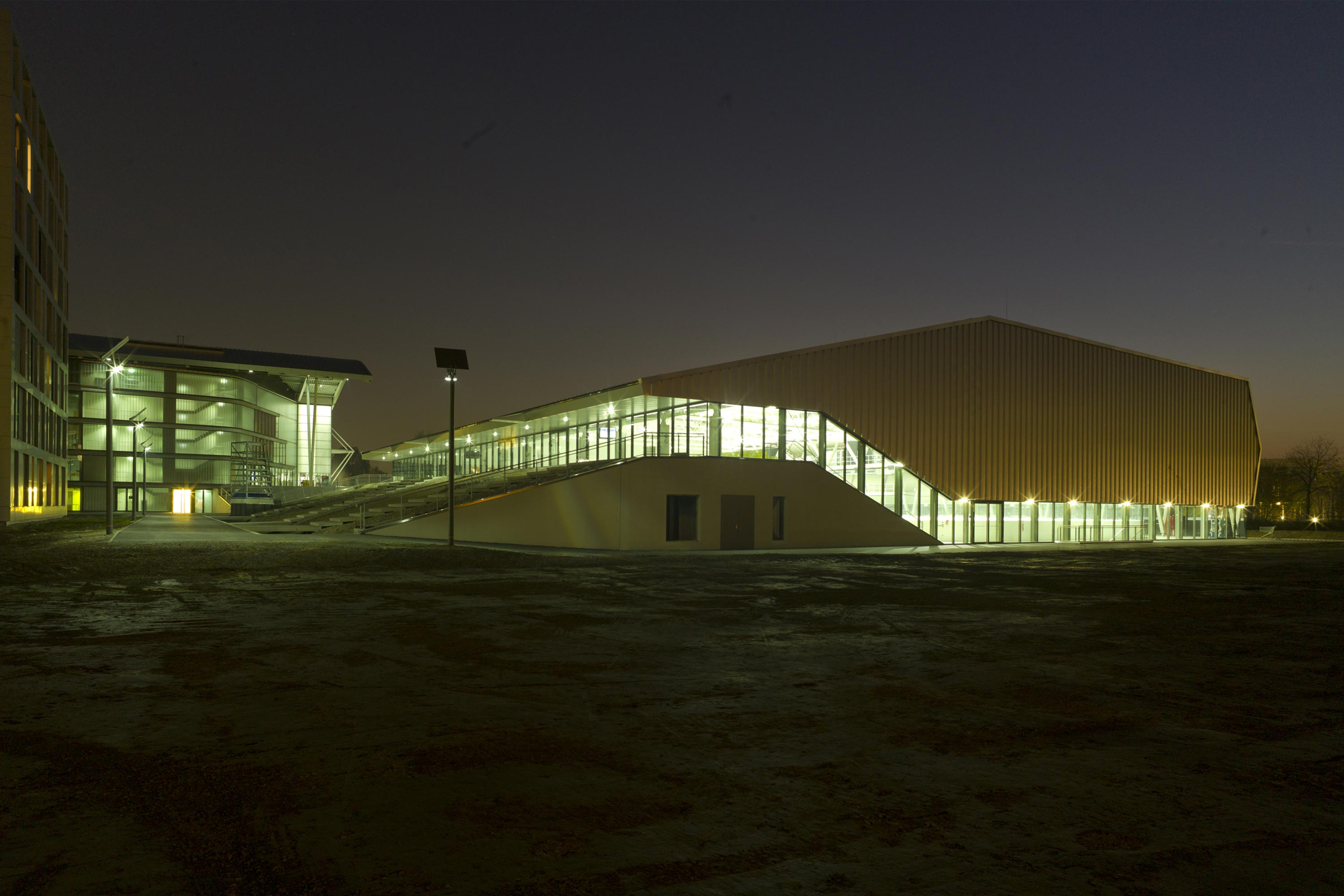 Erste Bank Arena. Photo: Berger+Parkkinen Architekten