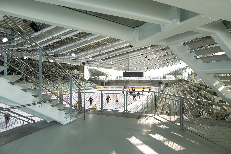 Halle 1 in der Erste Bank Arena. Foto: Berger+Parkkinen Architekten