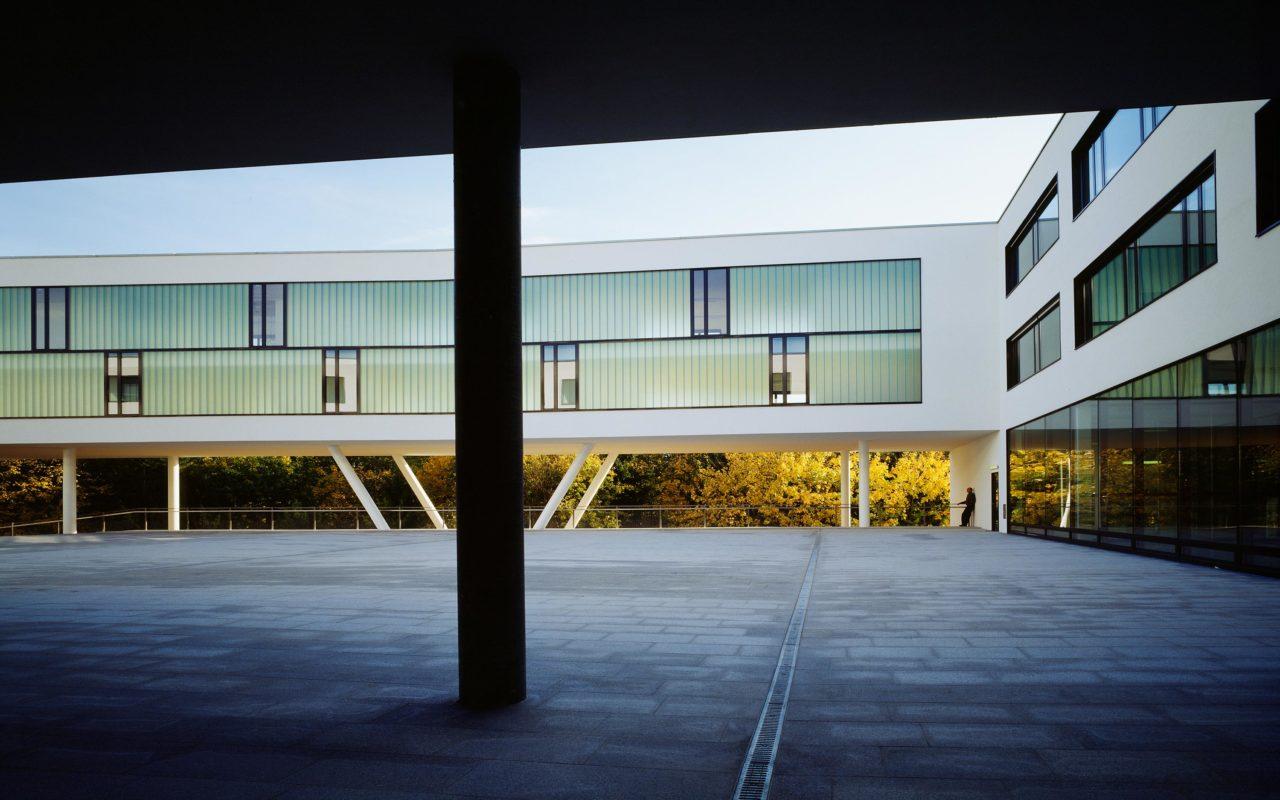 Campus der Fachhochschule Hagenberg. Foto: Gerald Zugmann | Berger+Parkkinen Architekten