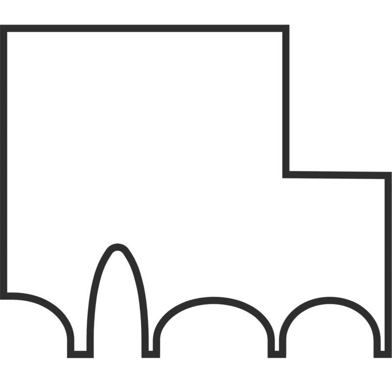 Institutsgebäude für Pharmazie, Logo. Berger+Parkkinen Architekten