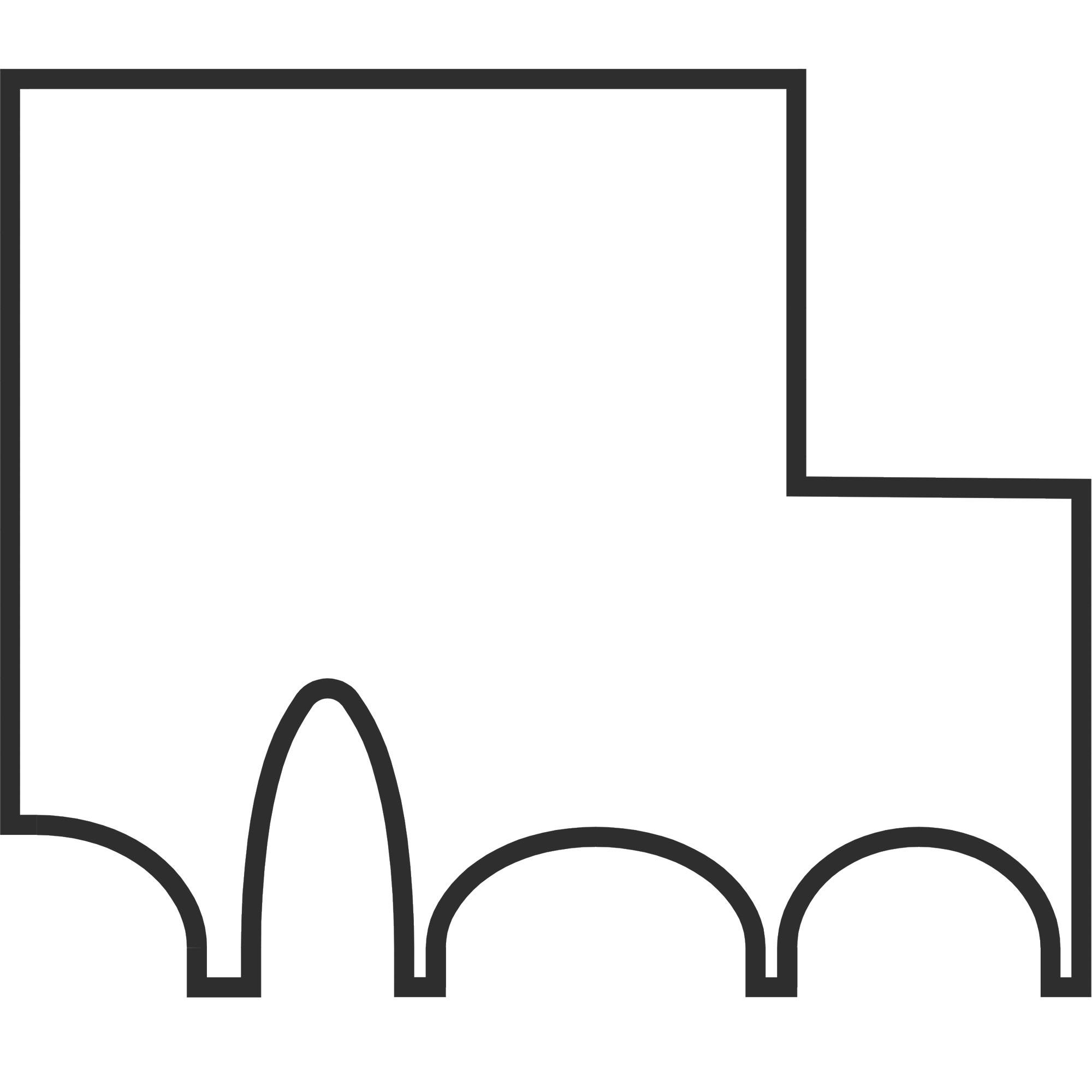 Institute building of Pharmacy, logo. Berger+Parkkinen Architekten