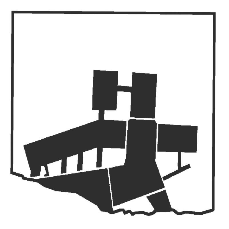 Musiktheater im Berg, logo. Berger+Parkkinen Architekten