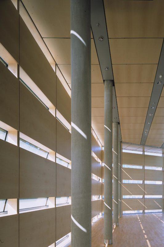 Ausstellungsbereich im Felleshus der Nordischen Botschaften in Berlin. Foto: Christian Richters | Berger+Parkkinen Architekten
