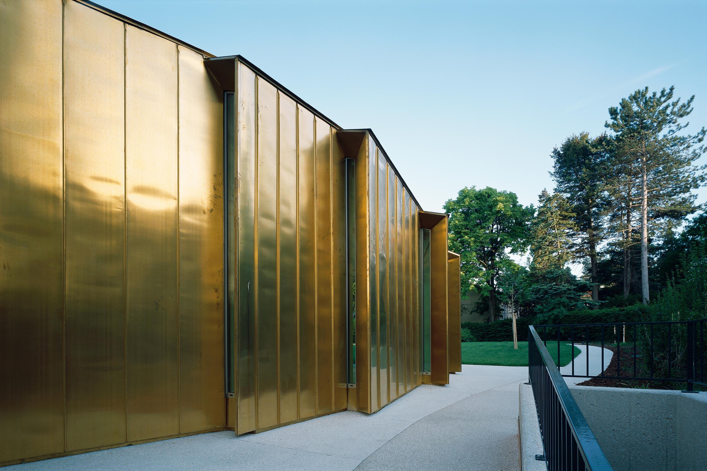 Residenz der Königlich Norwegischen Botschaft. Aussenansicht Speisesaal. Foto: Gerald Zugmann | Berger+Parkkinen Architekten