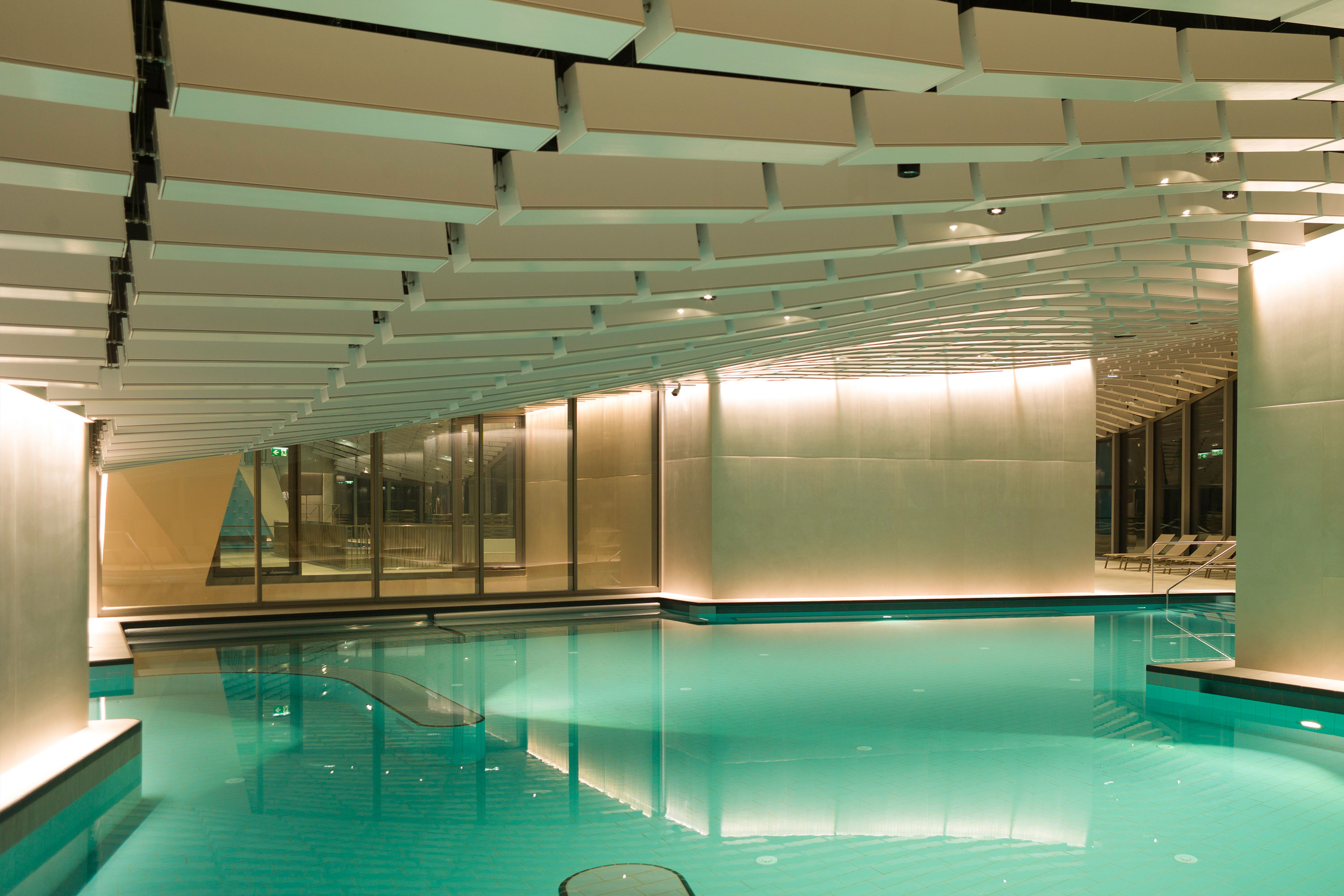 Paracelsus Bad & Kurhaus in Salzburg, family pool. Photo: Berger+Parkkinen Architekten
