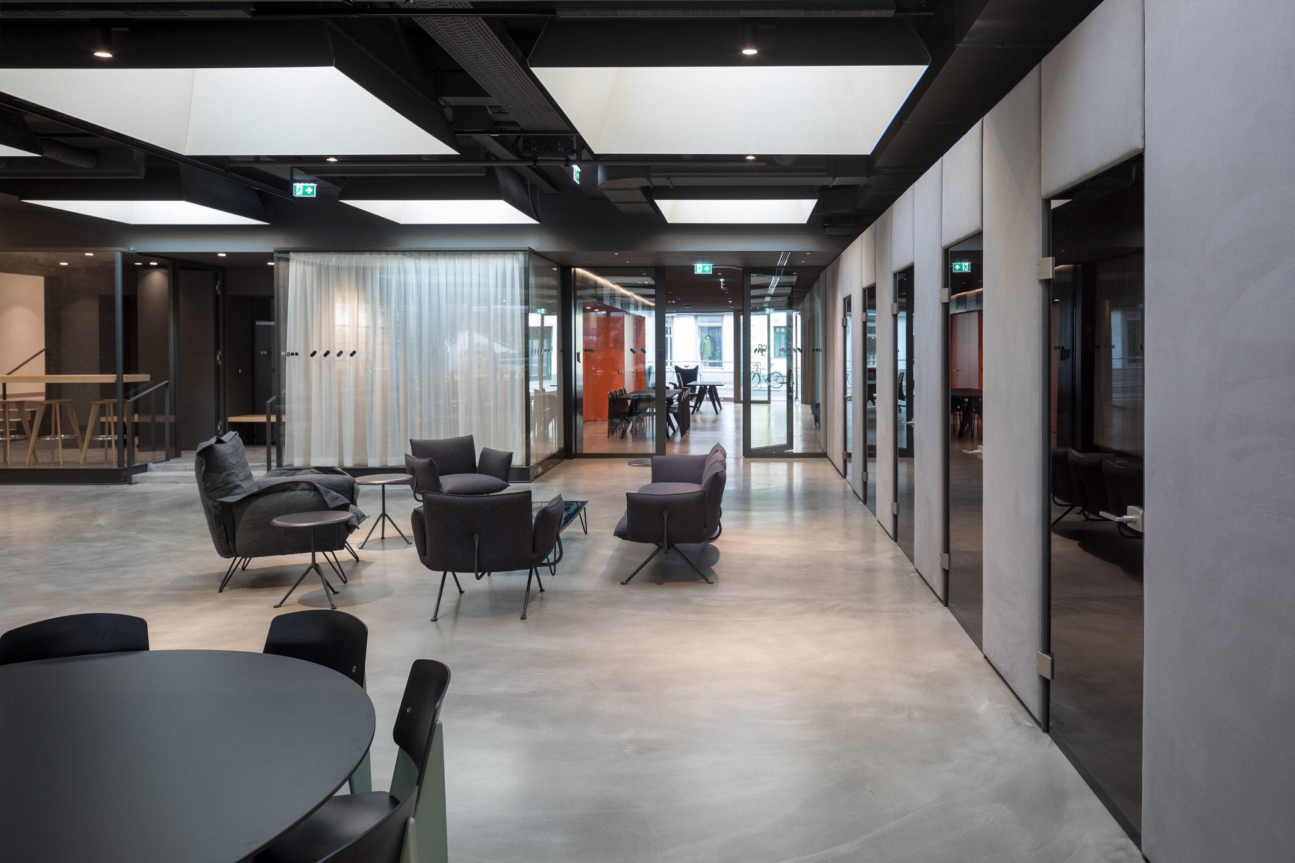 Addendum Redaktion und TV-Studio. Foto: Wolfgang Thaler | Berger+Parkkinen Architekten