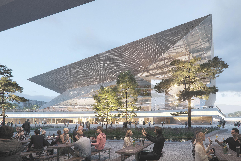 WH Arena, Berger+Parkkinen Associated Architects